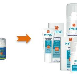 Les produits Hyfac se refont une beauté !