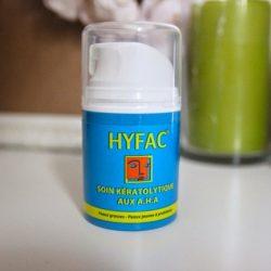 Hyfac veut du bien à la peau de Vicky