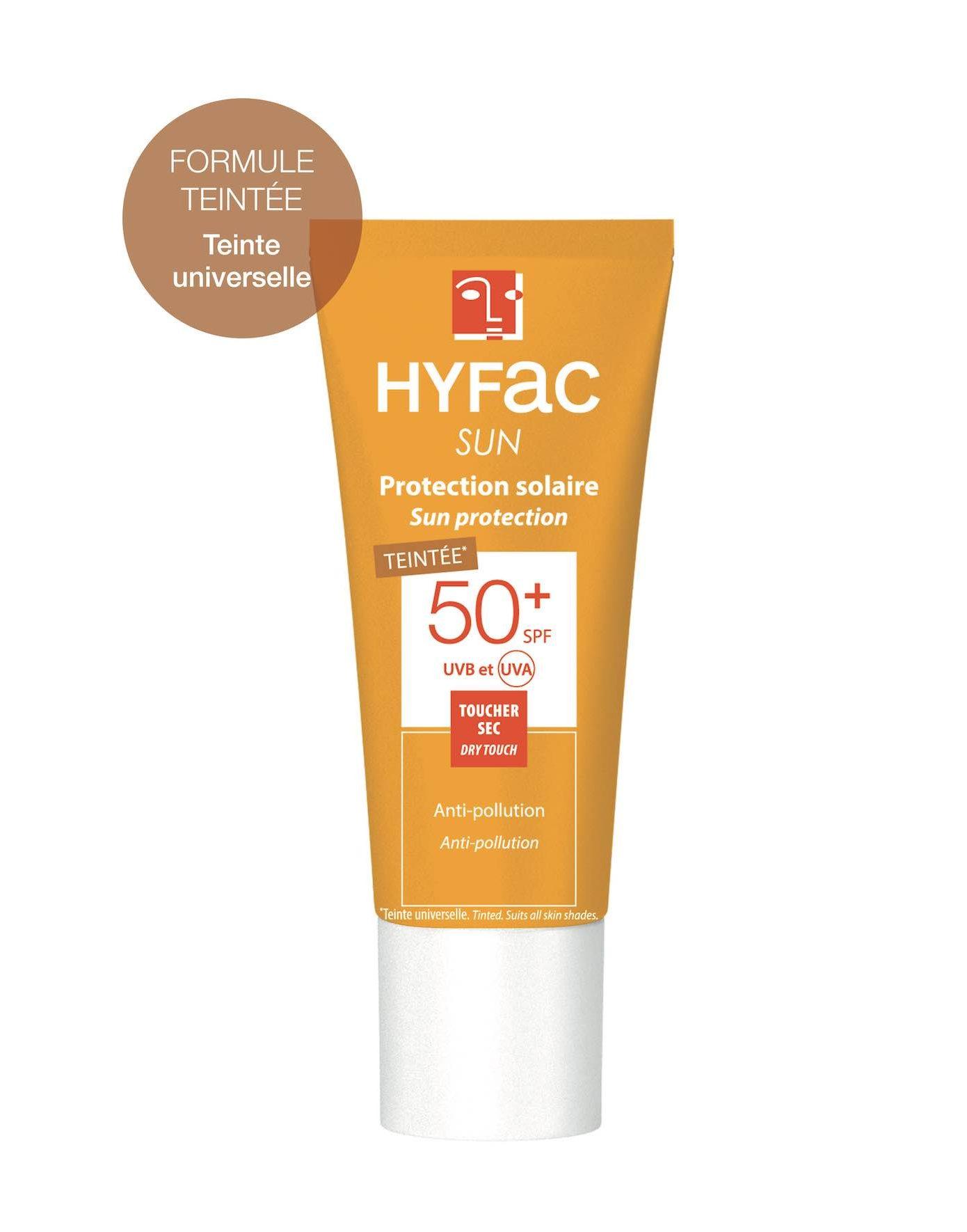 Hyfac sun protection solaire teintee