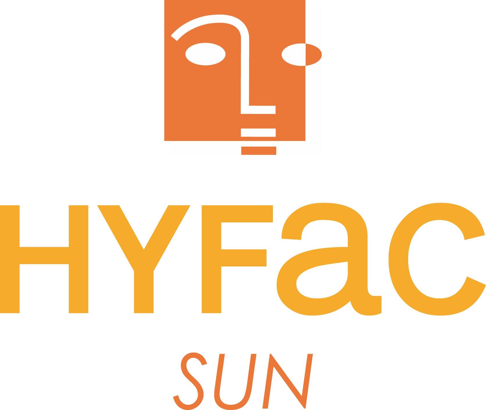 солнечный логотип hyfac