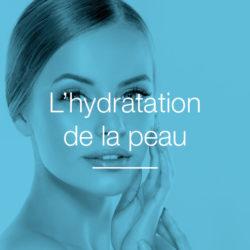 L'hydratation de la peau