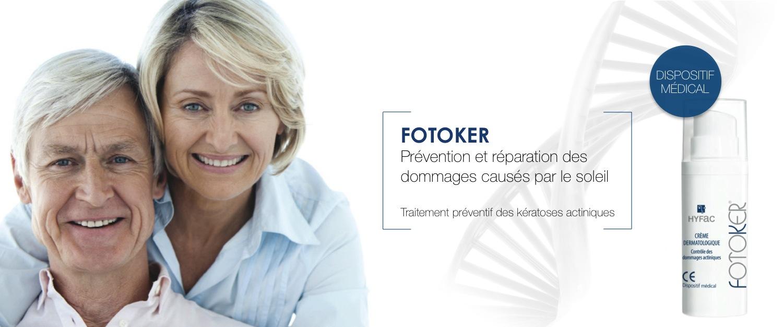 Fotoker prévention et réparation kératoses actiniques