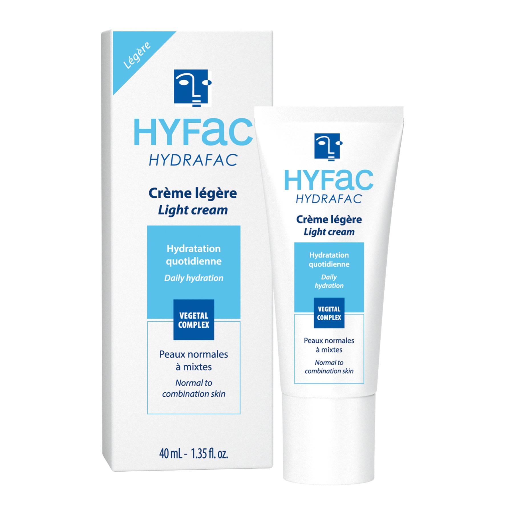 HYDRAFAC riche légère hydratante peaux normales à mixtes