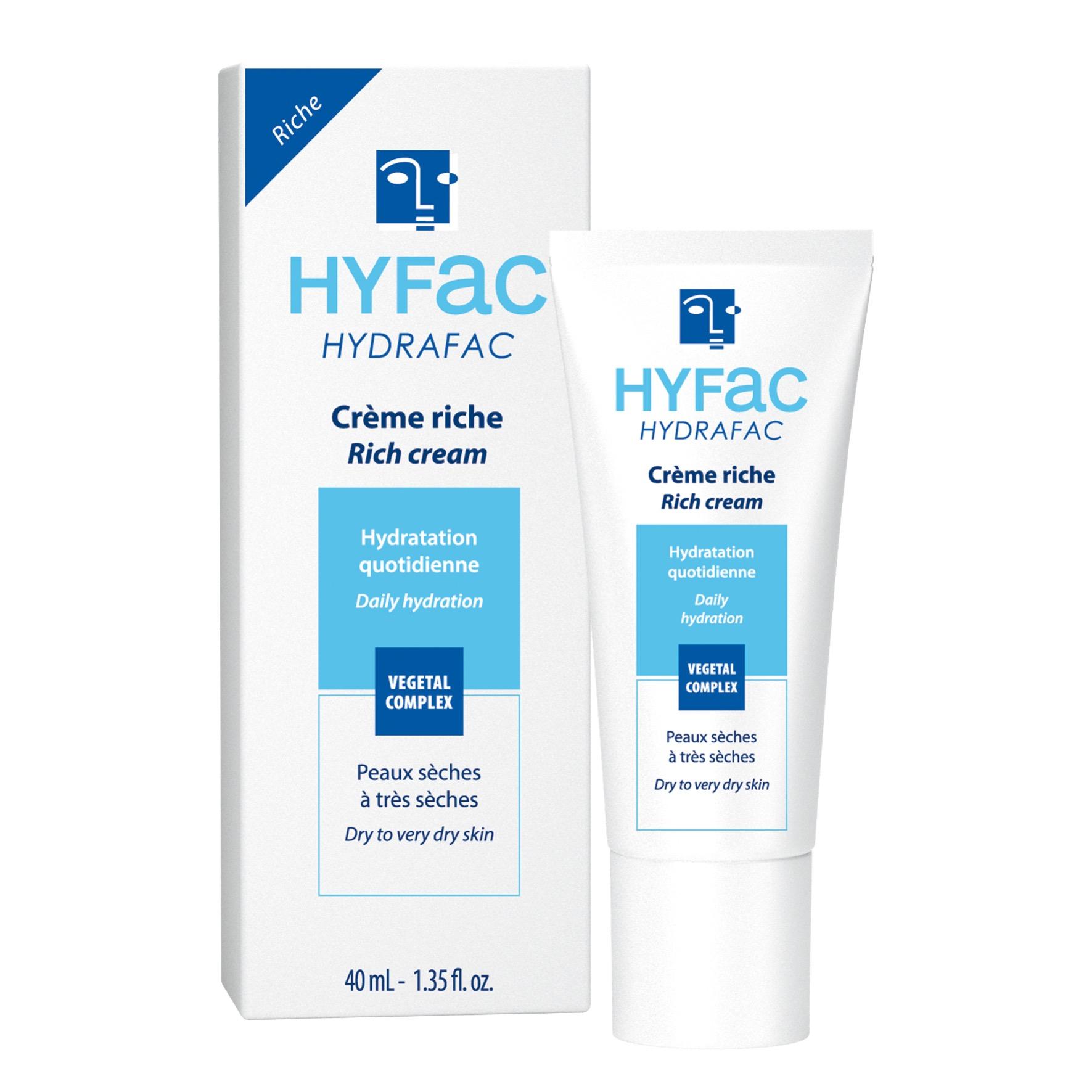 HYDRAFAC riche crème hydratante peaux sèches