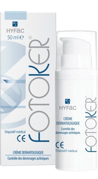 FOTOKER crème dermatologique dommages actiniques