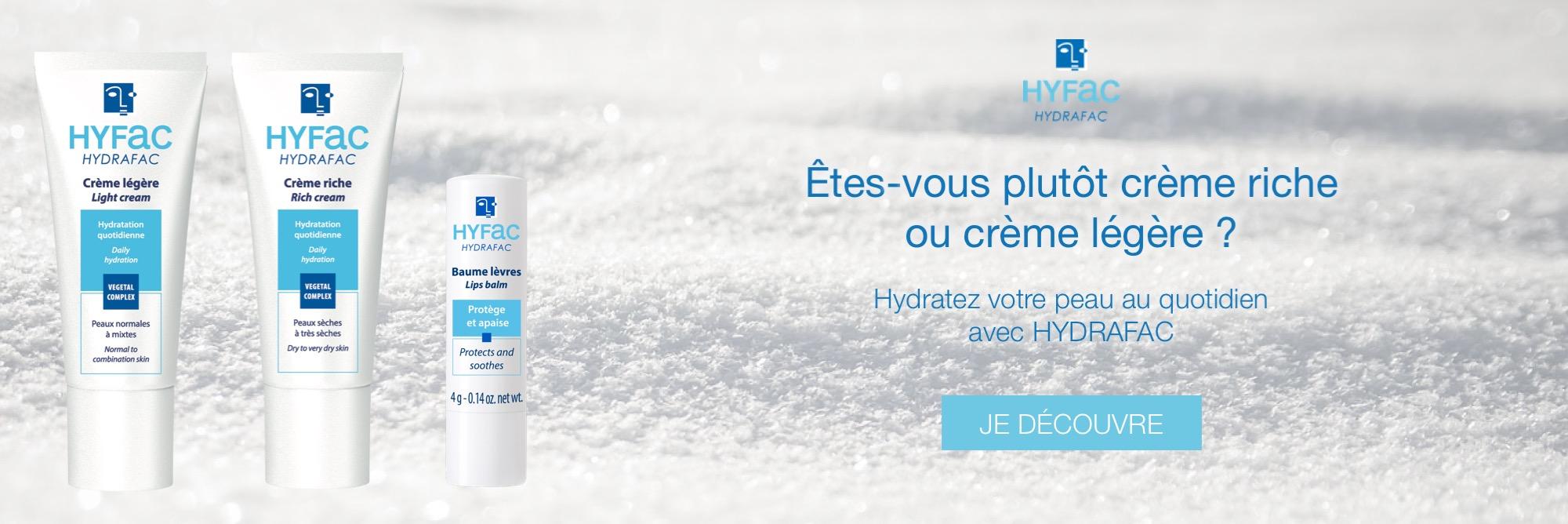 HYDRAFAC soin hydratant